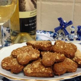 Закусочное печенье из голубого сыра