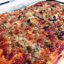 Базовое тесто для пиццы