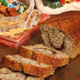 Маковый кекс с корицей