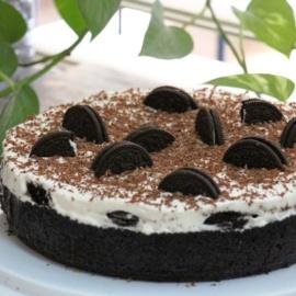 Творожный торт с орео