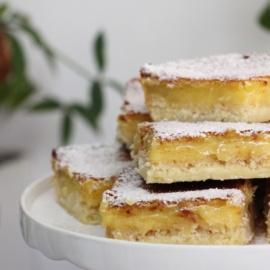 Американские лимонные пирожные (lemon bars)