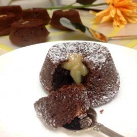 Шоколадное суфле с сюрпризом