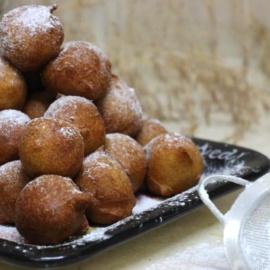 Воздушные итальянские пончики из рикотты