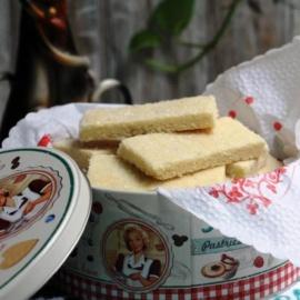 Ванильное печенье «Шортбрэд»