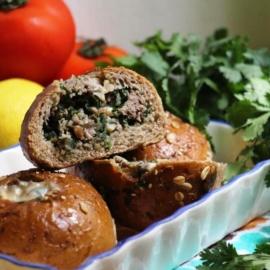 Булочки с мясом по-мароккански