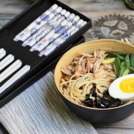 Суп рамэн, японский фастфуд