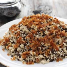 Маджадра, рис с чечевицей