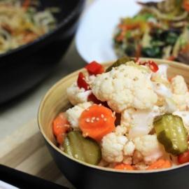 Маринованные овощи как в китайском ресторане