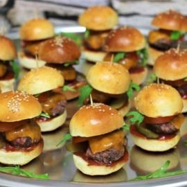 Мини булочки для бургеров