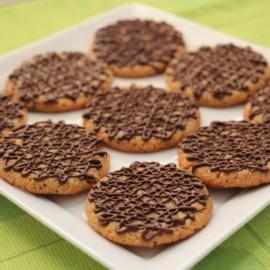 Арахисовое печенье без муки