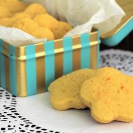 Итальянское печенье из поленты с апельсином
