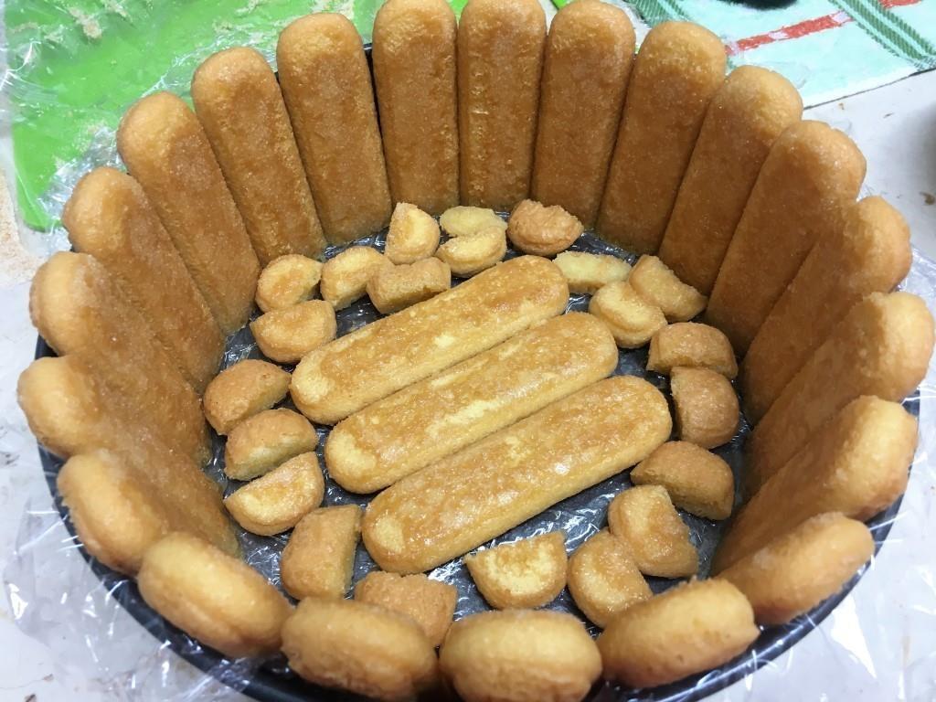 Абрикосовый торт суфле без выпечки