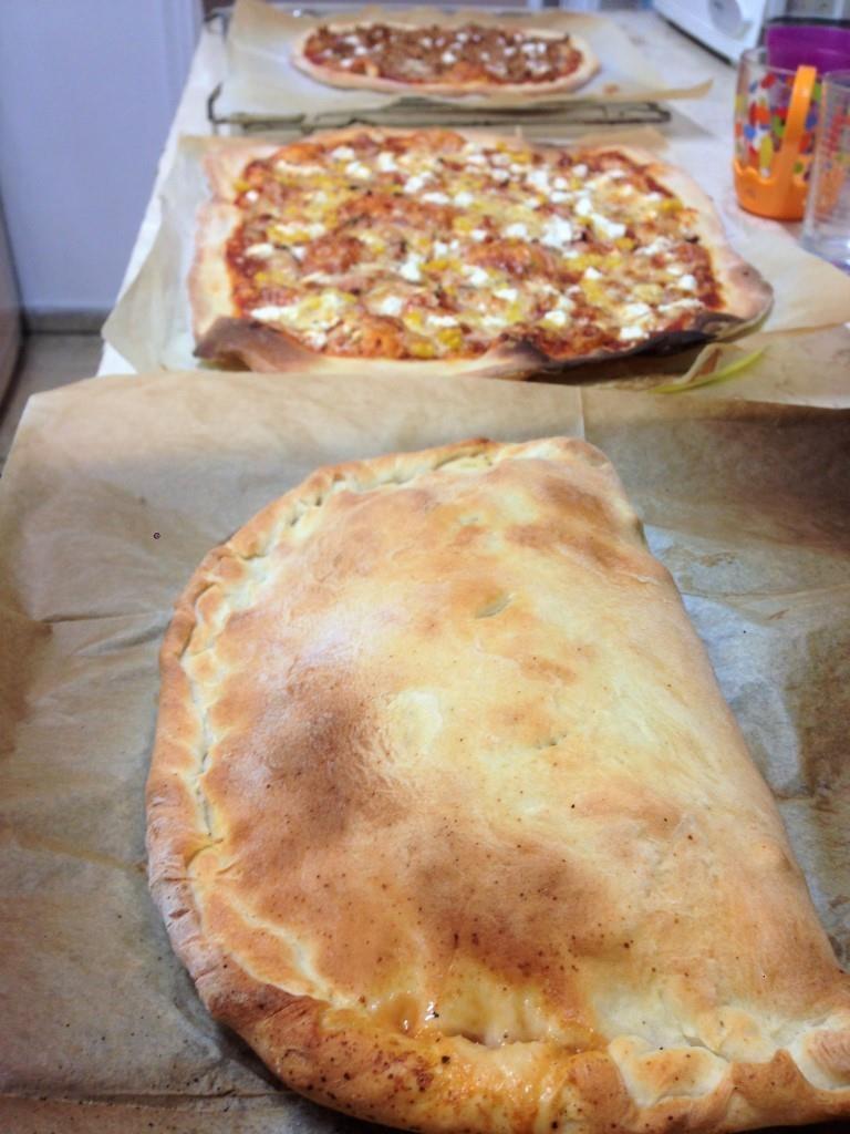 Тесто для пиццы, улучшенный вариант