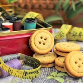 Ореховое печенье «Пуговицы» с нутеллой