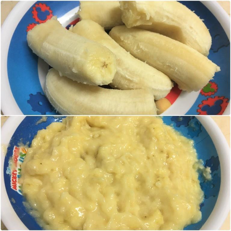 Мягкое банановое печенье