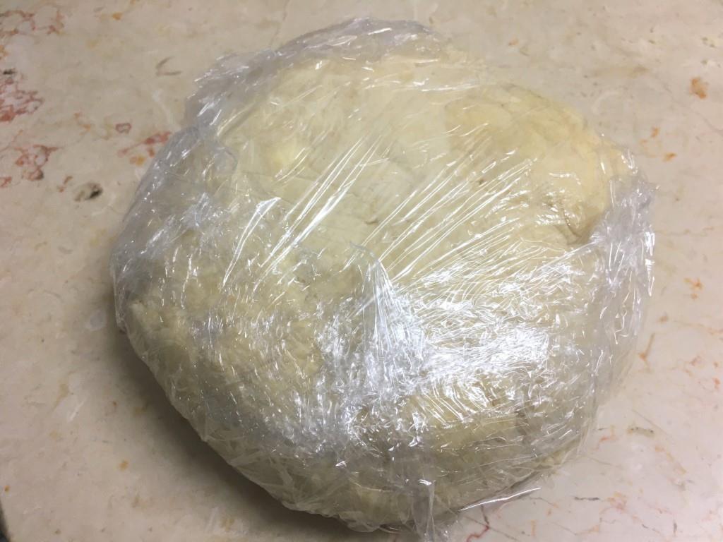Галета со спаржей и сливочно-сырной начинкой