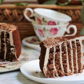 Торт «Нежный медовик»