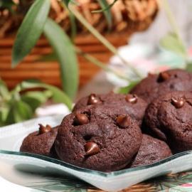 Двойное шоколадное печенье