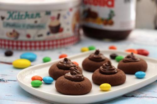 Нутеллотти, печенье с нутеллой